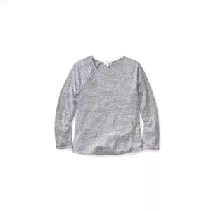 Aritzia Wilfred Free Brauw Reposa Knit Cropped Tee